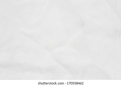 White fabric background. White background. texture of the material