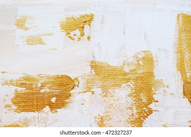 white and gold abstract grunge