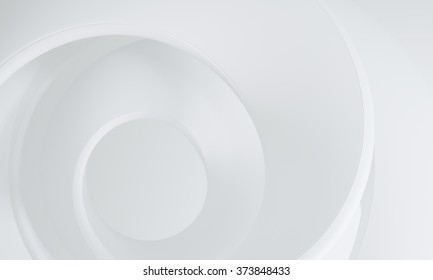 White gray milky swirl - subtle abstract background concept