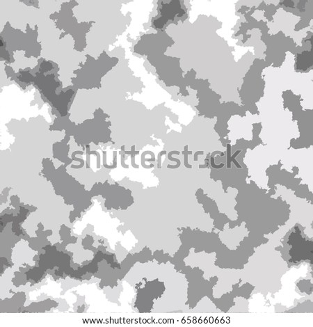 white grey camouflage wallpaper background stock illustration