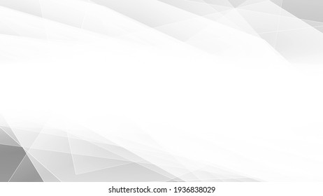 White and grey smooth stripes abstract minimal geometric motion background. Video animation Ultra HD 4K