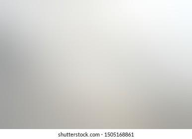 White grey soft transition abstract background. Subtle neutral blur illustration.