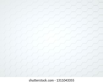 White honeycomb structure-Stockphoto. 3D Render