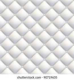 white leather upholstery seamless tile-able texture with great detail for background, check my port for similar