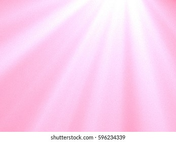 White light design on pink blur grain background