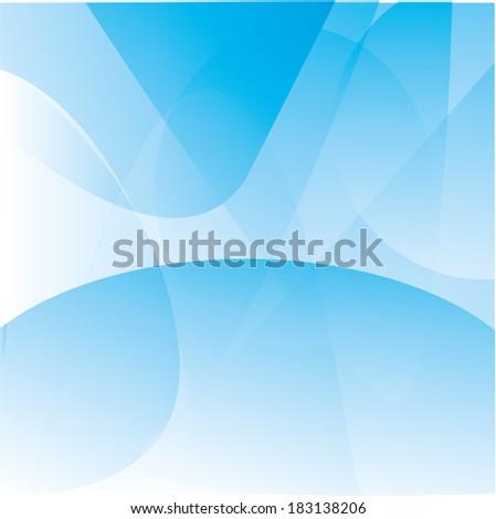 White Lite Blue Abstract Wallpaper Background Stock Illustration
