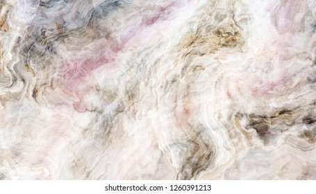 White marble pattern. Abstract texture and background. 2D illustration