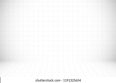 White mosaic pattern and texture background for design artwork.