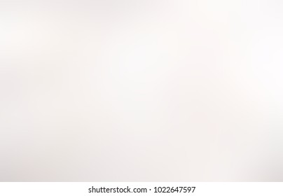 White neutral abstract texture. Pearl empty background. Silver defocused image. Light blurred pattern illustration.