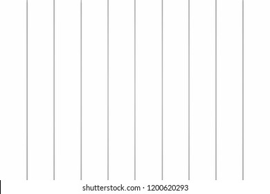 White painted boards illustration