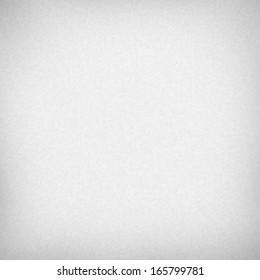 white paper background subtle canvas fabric texture and vignette