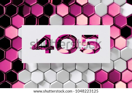 Royalty Free Stock Illustration of White Paper Cut Number