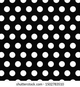 white polka dots black background wallpaper