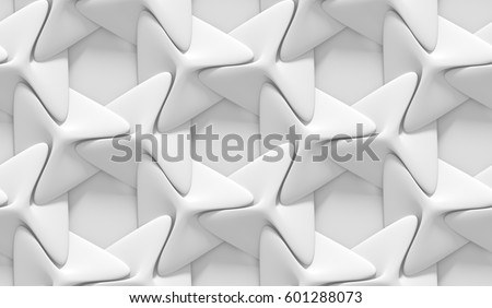white shaded abstract geometric pattern origamiのイラスト素材