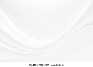 white silk textured cloth background,Closeup of rippled satin fabric with soft waves.