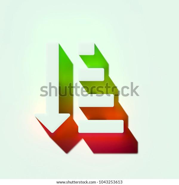 White Sort By Quantity Ascending Order Stock Illustration 1043253613