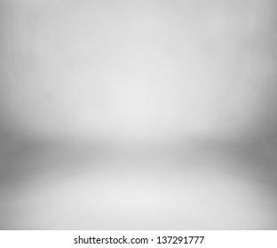 White Studio Backdrop with Floor