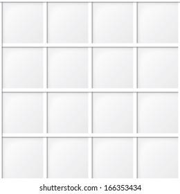 white tile seamless pattern, minimalistic background