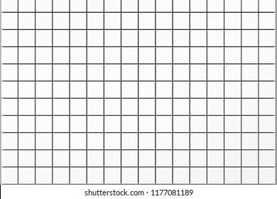 white tiles- CG image