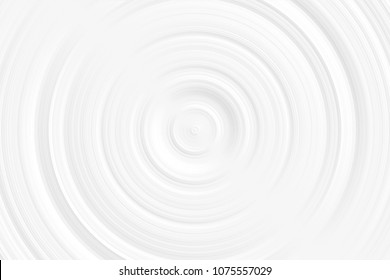 White vortex, circle spin abstract background