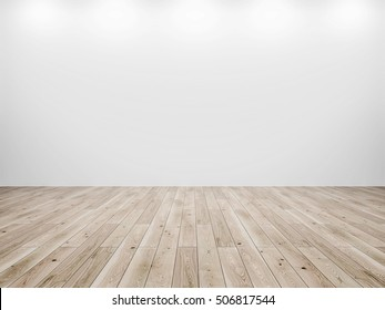 White wall 3D background