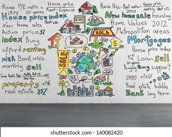 Marketing Strategy for Real Estate Stock Illustrations