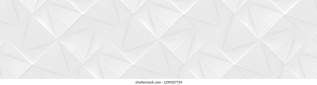 White Wide Background (Website head) (3d Illustration)