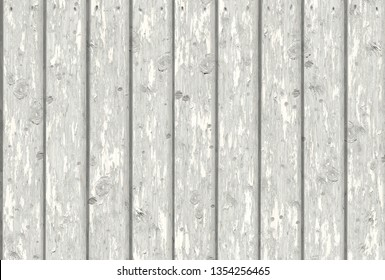 white wood wall 3d illustration