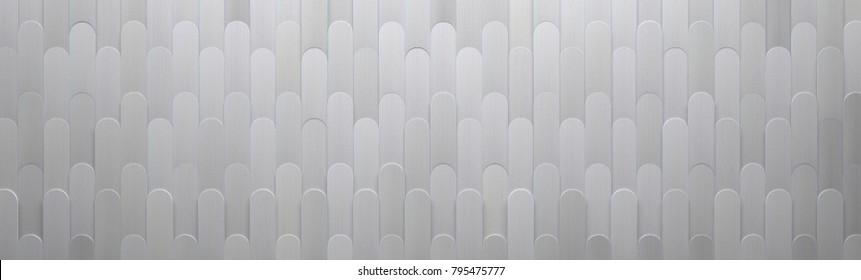 Wide Metal Background (3d illustration)