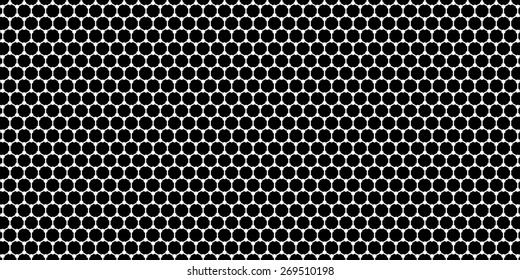 Widescreen cellular, honeycomb, alveolar, cellulate, mesh background. Digital image. High-resolution wide background for design. Crystal lattice. Bitmap image. Computer graphics. Photoshop.