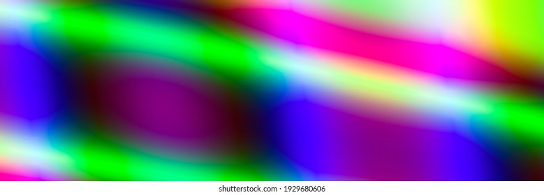 Widescreen neon lights art colorful graphic background