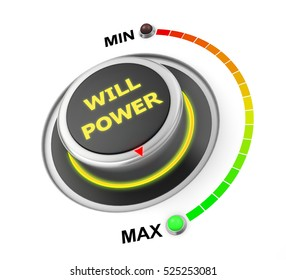 will power button position 3d rendering