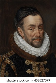 William I, Prince of Orange, by Adriaen Thomasz. Key, c. 1579, European painting, oil on panel. Of the noblemen who rebelled against Phillip II's Spanish rule of the Netherlands, William of Orange be