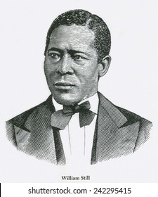 William Still (1819-1902) was an African-American abolitionist, conductor on and historian of the Underground Railroad. Published THE UNDERGROUND RAIL ROAD RECORDS in 1873.
