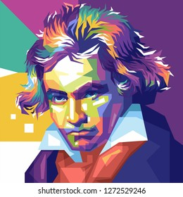 Wina, Austria, 26 Maret 1827. Ludwig van Beethoven, was a German composer and pianist