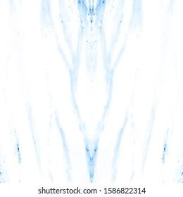 Winter Animal Texture.  Royal Bengal Tiger. Neon Blue Hand Drawn Pattern. Navy Blue Minimal Sketching. Zebra Fur Print. Sufari Fashion Texture. Snowy Tiger Stripes.