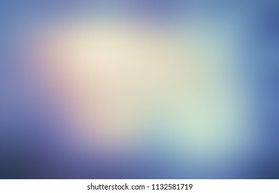 Winter magical sky light. Snow vignette. Frosty blue blurred texture. Holiday empty background. Spectral gleam defocused template. Festive abstract illustration.
