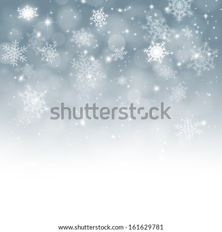 Winter snow background xmas balls christmas stock illustration winter snow background with xmas balls for christmas and new year greeting cards m4hsunfo