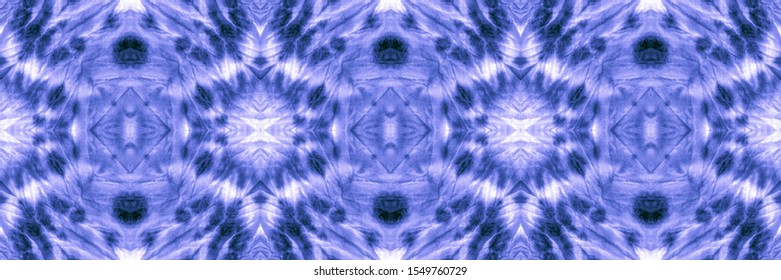 Wintery Azure, Indigo On Light. Mix Designs Background. Natural Design. Dip Dye Paper. Watercolor Backgrounds Navy. Abstract Chintz Stylized Ornament.