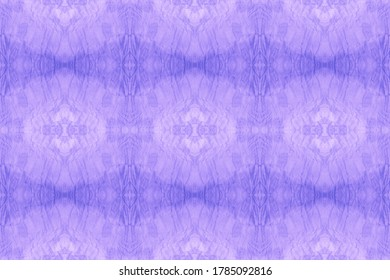 Wintery Azure, Indigo On White. Space Dye Seamless Print. Abstract Tunisian Stylized Element. Watercolor Wavy Pattern. Retro Style. Graphics Painting.
