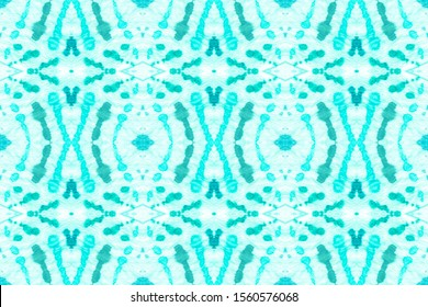 Wintery Azure, Virid On Light. Abstract African Ethnic Pattern. Pattern Designs. Bright Blended Color Paint. Herringbone Paper. Beautiful Design.