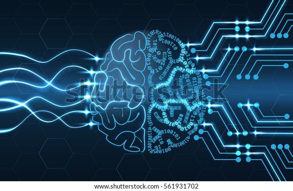 Przewodowa ilustracja mózgu - kolejny krok do sztucznej inteligencji