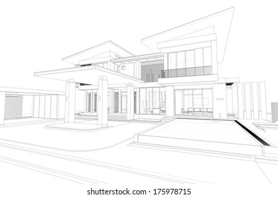 Creative Office Exterior Stock Illustrations, Images ...