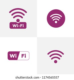 Wireless Network Symbol wifi icon. Free wi-fi icons and wifi applications