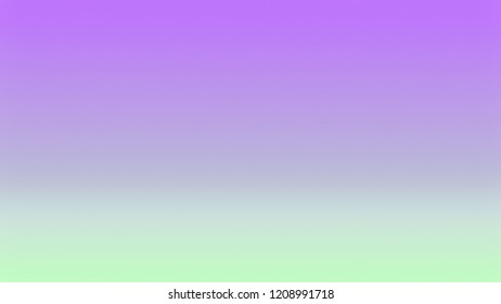 Wisteria Violet, Purple and Apple Green color. A modern gradient texture background with space for text, degrading fragments and a smooth shape of transition and changing colors.