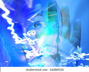 Woman Abstract