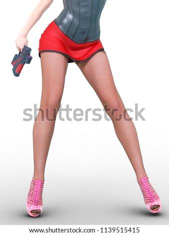 Fetish leg pantie hose Nylon stocking