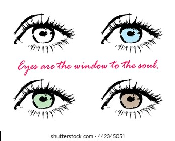 Eyes are the Windows to the Soul Images, Stock Photos