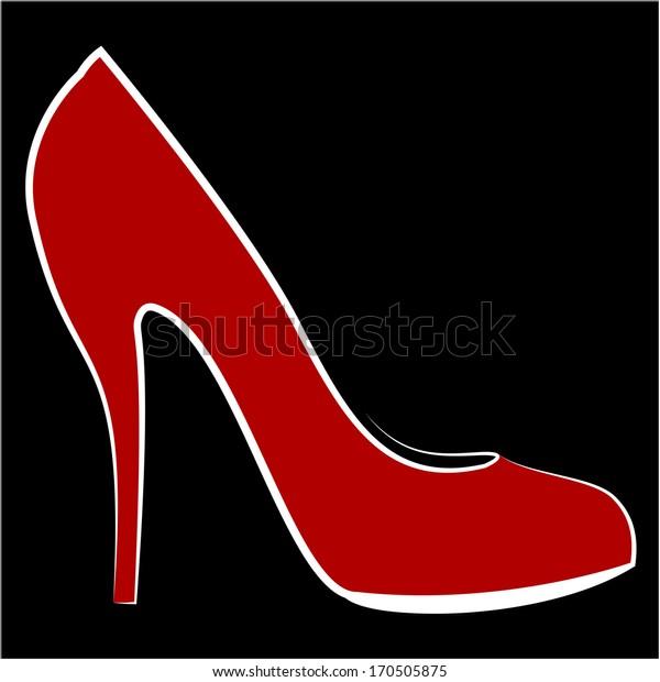 Woman's shoe, Sketch