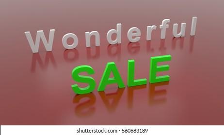 wonderful Business Sale